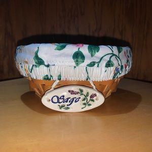 Longaberger Hostess Sage Booking Basket